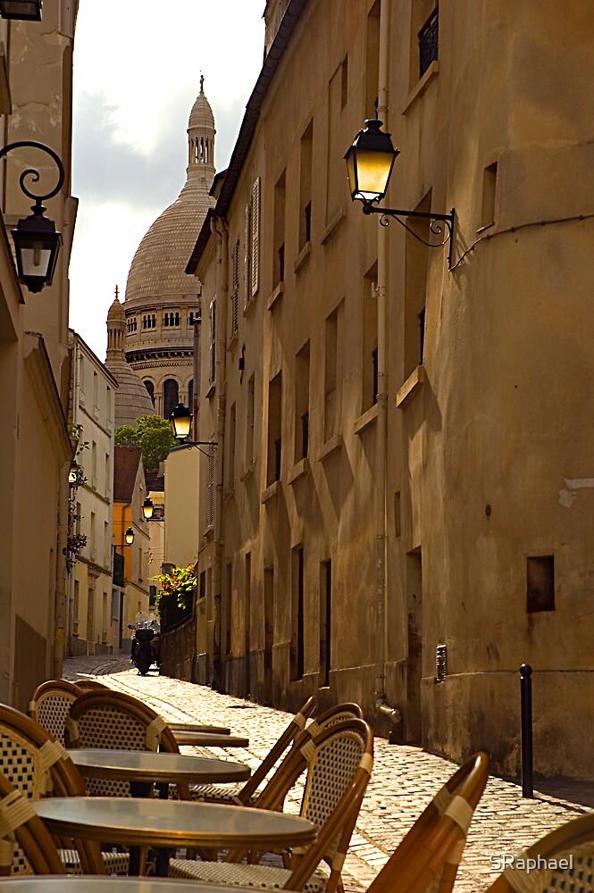 The Walk to Sacré-Cœur by SRaphael