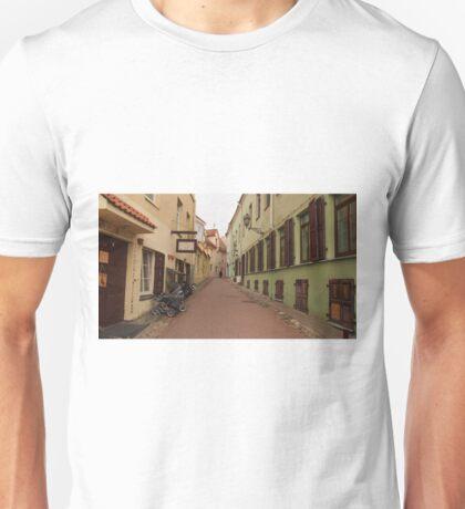 Old Town street. Unisex T-Shirt