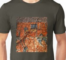 Urban Mural. Graffiti. Street Art. 3 Unisex T-Shirt