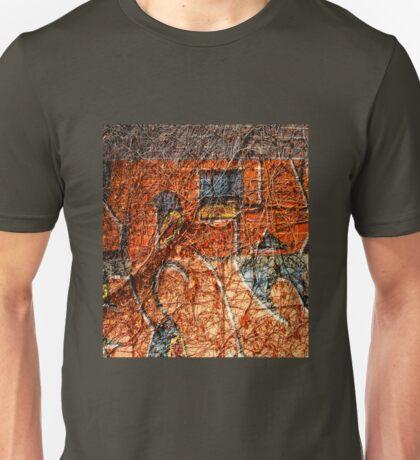 Urban Mural. Graffiti. Street Art. 3 Unisex T-Shirt