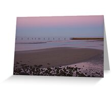 Shorncliffe Sunset Greeting Card