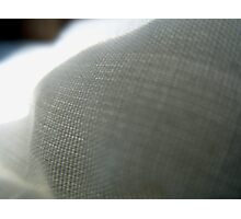 Fabric close up 2 Photographic Print