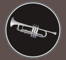 Trumpet Silver Sign by mayala