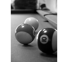 3 balls Photographic Print