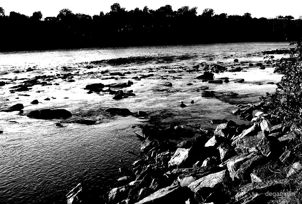 river of light  by degamelin