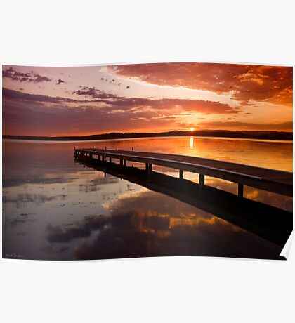 Warners Bay Sunset 2 Poster