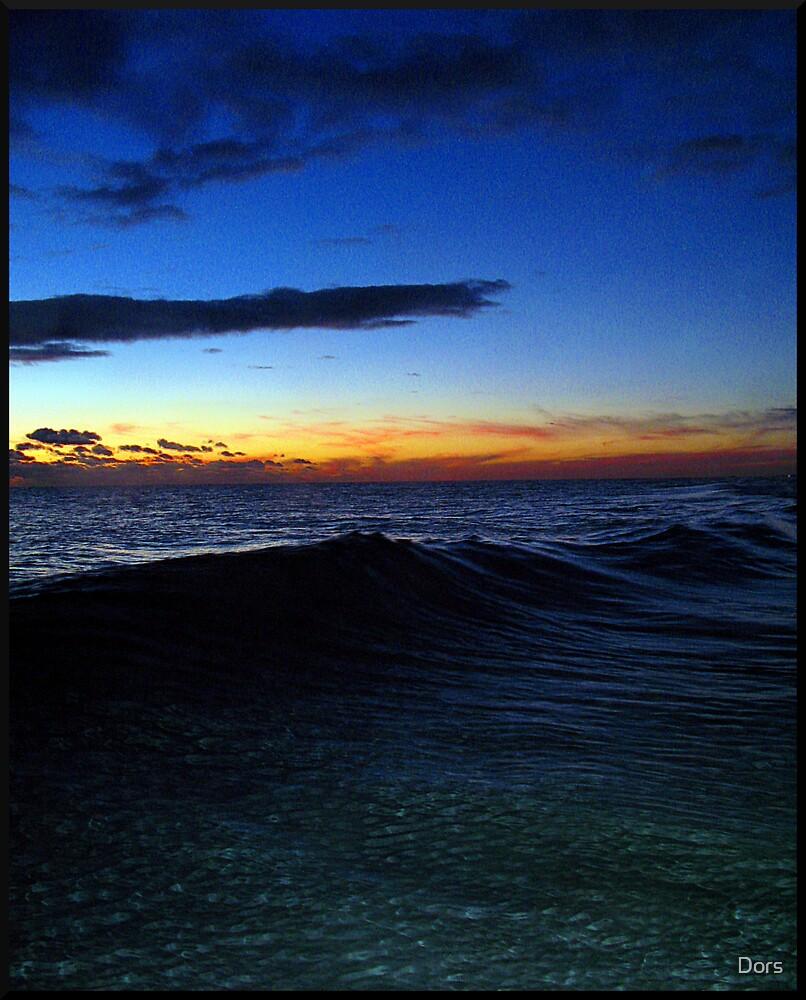 Crystal Ocean Fire Sky by Dors