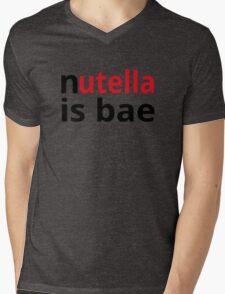 Nutella Is Bae Mens V-Neck T-Shirt