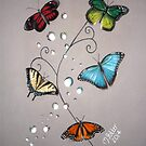 Butterfly Bubbles by Michelle Potter