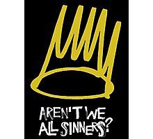 J Cole - Born Sinner Photographic Print