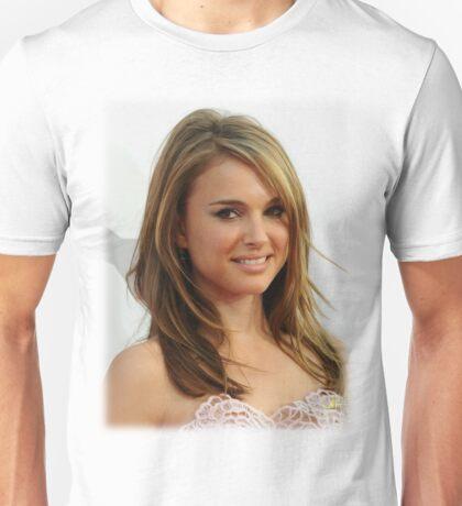 Natalie Portman oil paint Unisex T-Shirt