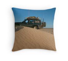 Simpson Desert - Rig Road  Throw Pillow
