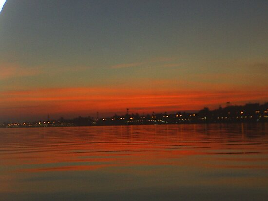THE NILE AT LUXOR by jeanemm