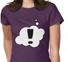 EXCLAMATION MARK by Bubble-Tees.com Womens Fitted T-Shirt