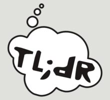 TL;DR by Bubble-Tees.com by Bubble-Tees