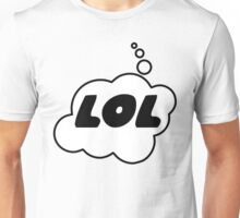 LOL by Bubble-Tees.com Unisex T-Shirt