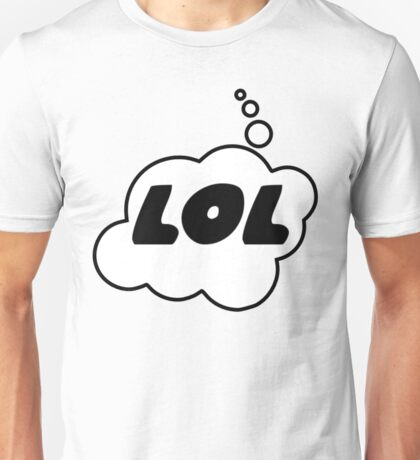 LOL by Bubble-Tees.com Unisex T-Shirt