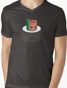 Sushi Snuggle Mens V-Neck T-Shirt