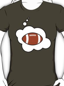 Football by Bubble-Tees.com T-Shirt
