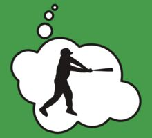Baseball Player Swing by Bubble-Tees.com by Bubble-Tees