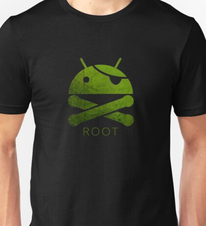 Root Android Unisex T-Shirt