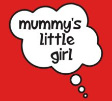 Pregnancy Message from Baby - Mummy's Little Girl by Bubble-Tees.com by Bubble-Tees