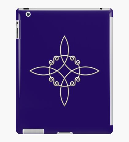 Witch`s Knot, Power Of 4 Elements, Magic, Mystic, Witchcraft, Wicca iPad Case/Skin