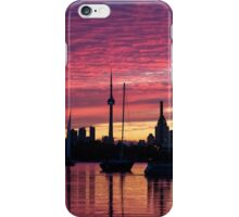 Of Yachts and Skylines iPhone Case/Skin