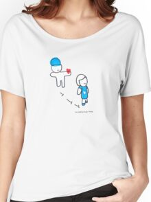 the heart pumps blood Women's Relaxed Fit T-Shirt