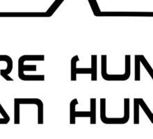 More Human than Human by Bubble-Tees.com Sticker