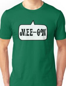 MEE-OW by Bubble-Tees.com Unisex T-Shirt