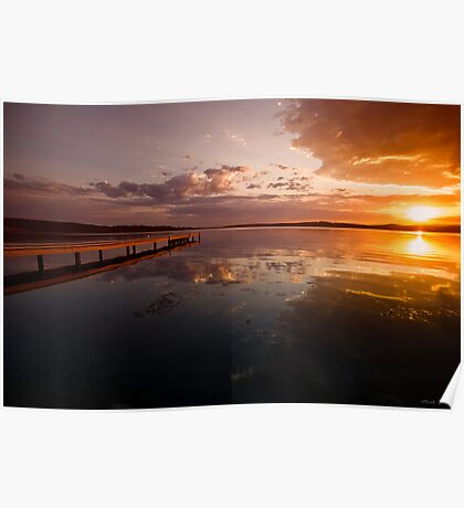 Warners Bay Sunset 6 Poster