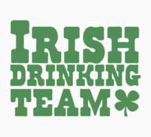 Irish drinking team by jazzydevil