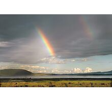 Lake Nakuru rainbow Photographic Print