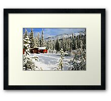 The Outpost Framed Print