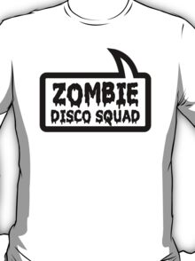 ZOMBIE DISCO SQUAD by Bubble-Tees.com T-Shirt