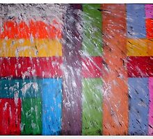 Coloured Squares and Seagull Stuff by Dors