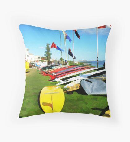 SURFYLOOK Throw Pillow