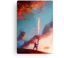 Autumn Lancer Metal Print