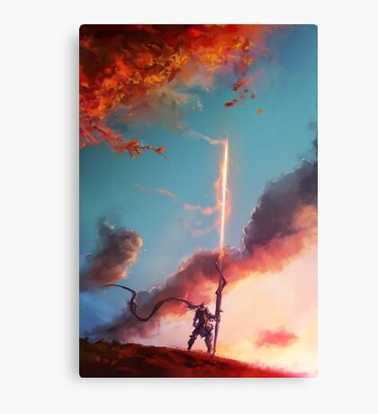 Autumn Lancer Canvas Print