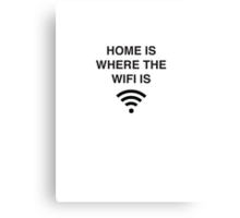 Wifi Canvas Print