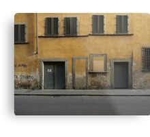 Florence streetscape Metal Print