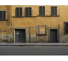 Florence streetscape Photographic Print