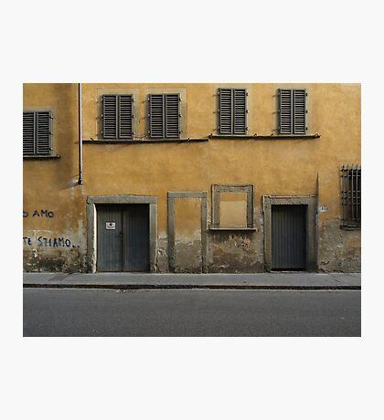 Florence streetscape Photographic Print