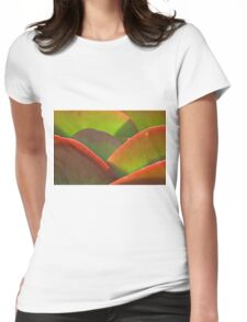 Backlit Womens Fitted T-Shirt