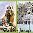 Season's Greetings ~ A Child is Born by ©The Creative  Minds