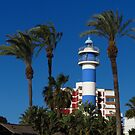 Lighthouse, Torre Del Mar by wiggyofipswich