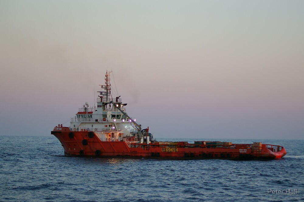 Our twin sistership, MV Nor Sea by Peter Hall
