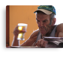 Fair Dinkum Bloke Canvas Print