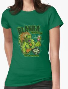 BLANKA ENERGY DRINK Womens Fitted T-Shirt